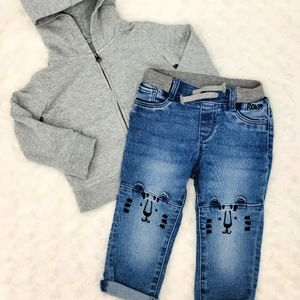 EUC Primary hoodie/🆕️ Tiger jeans